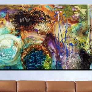 The most famous living room painting Abstract Art wall painting for home decor ideas oil painting No Framed 24x48inches