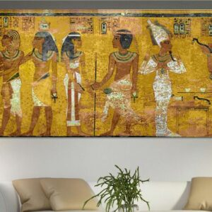 Egyptian Decor Canvas Painting Oil Painting Wall Pictures For Living Room Wall Decor Large Canvas Art no framed 70cmx180cm