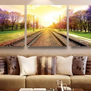 3 pcs Print poster canvas Wall Art Decoration art Modular pictures on the wall sitting room no frame 80cmx80cmx3pcs